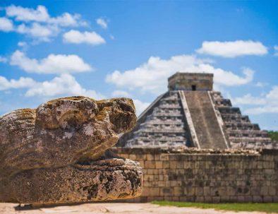 Reise Rundreise Mexiko Urlaub Mayatempel Pyramide